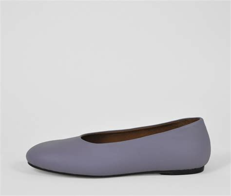 the palatines shoes the palatines shoes adeo high v ballet flat plum