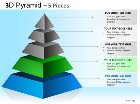 pyramid powerpoint template best photos of hierarchy pyramid template editable