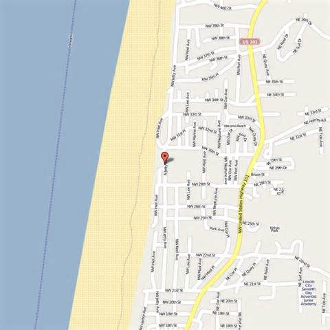 Lincoln City Oregon Map by Image Gallery Lincoln City Map
