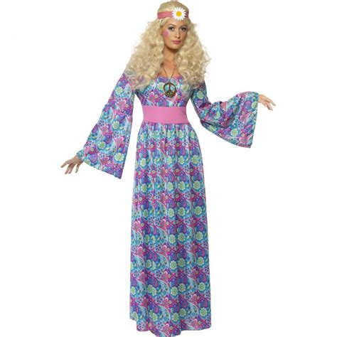 70er jahre 70er jahre kost 252 m damen hippie flower power kleid