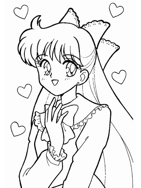 Sailor Scouts Coloring Pages Coloring Home Scouts Coloring Pages