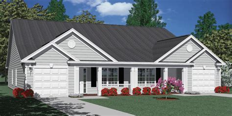 heritage 2 car garage plans houseplans biz house plan d1392 b duplex 1392 b