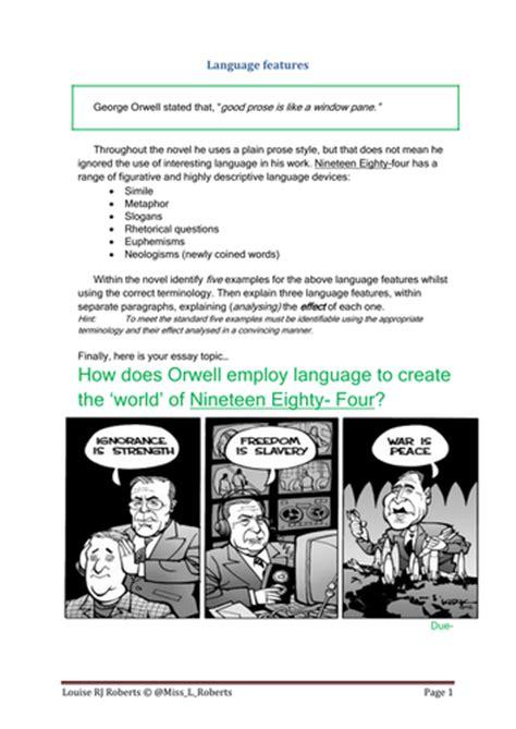 theme essay for 1984 1984 george orwell theme essay apamonitor x fc2 com