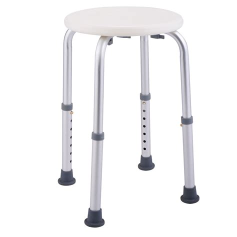 shower bench seat height 7 height adjustable bath shower chair medical seat stool