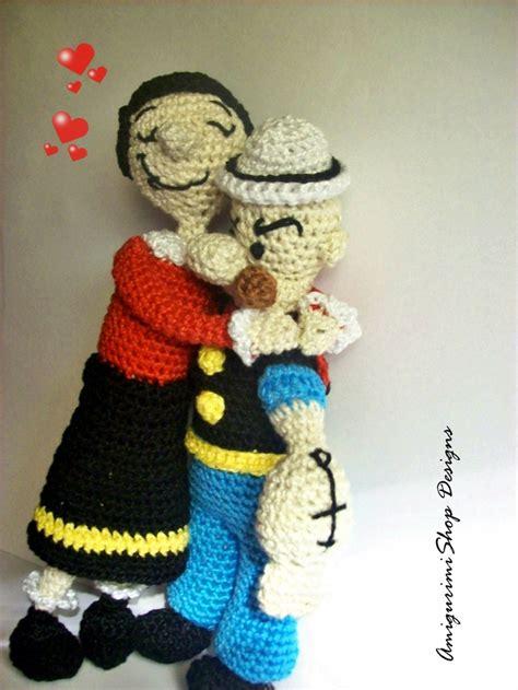Amigurumi Olive Pattern | popeye y olivia crochet characters pinterest