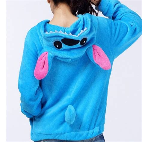 Sweater Rajut Lilo Stitch lilo and stitch hoodies disney lilo and stitch sweatshirt