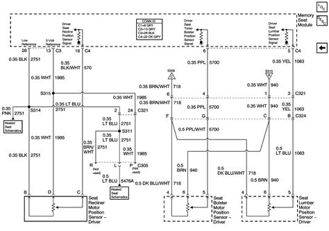 need 2001 silverado power seat wiring diagram