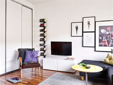 25 square meter a 25 square meter studio with a very organized and chic