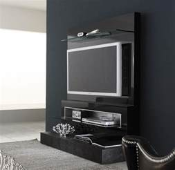 awesome Tv Cabinet Design For Living Room #2: black-diamond-wall-mounted-modern-tv-cabinets-design-ipc336.jpeg