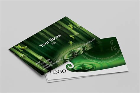 watermark business card template watermark nature business cards templates by borcemarkoski