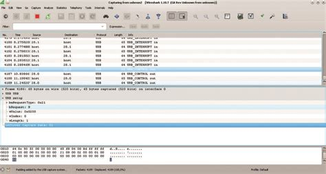 wireshark tutorial linux command line drive it yourself usb car linux voice