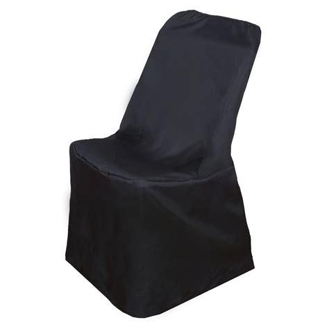 black folding chair covers black lifetime folding chair cover sle wedding