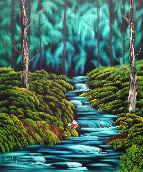 paint nite kennewick wa waterfalls painting 291 by barbara furlong