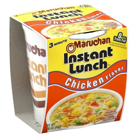 Ramen Cup maruchan 174 ramen noodle soup mix with chicken flavor 2