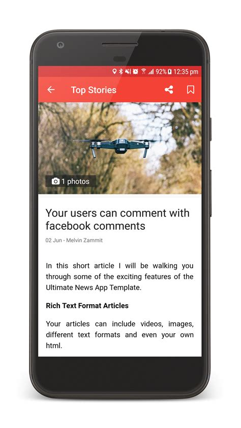 newspaper layout app the ultimate news app template by neurondigital codecanyon