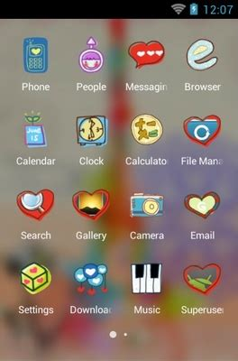 romantic theme download for android love is romantic android theme for clauncher