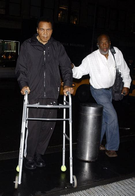 Is frail Muhammad Ali losing the fight against Parkinson's