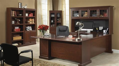 classic cherry home office desk design ideas furniture