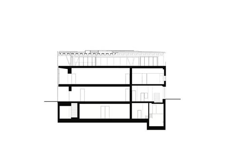 museum section gallery of aspen art museum shigeru ban architects 39
