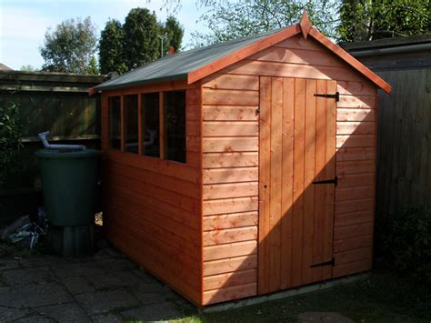 shed installation cousins conservatories garden buildings 8 x 6 apex shed installation in horsham