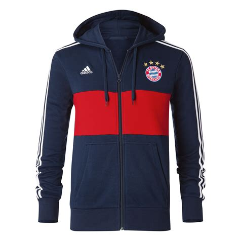 Zipper Hoodie Bayern Munchen 3 7f9f bayern munich 2017 2018 3s hooded zip navy br8756 67 80 teamzo