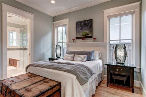 Platinum Gray Benjamin Moore leed platinum certified residence contemporary bedroom