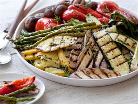 vegetables recipes grilled vegetables recipe giada de laurentiis food network