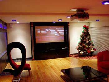 Home Theater Projector In Living Room Home Theater Buffalo Ny Park Place Installations
