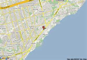 map of scarborough ontario canada map of 8 motel scarborough toronto area scarborough