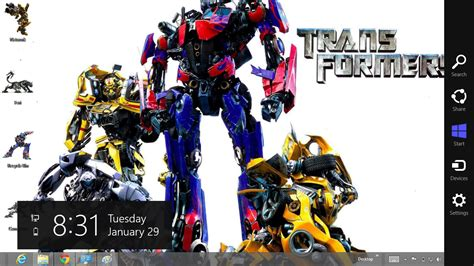 theme windows 8 1 transformer transformers prime theme for windows 8 ouo themes