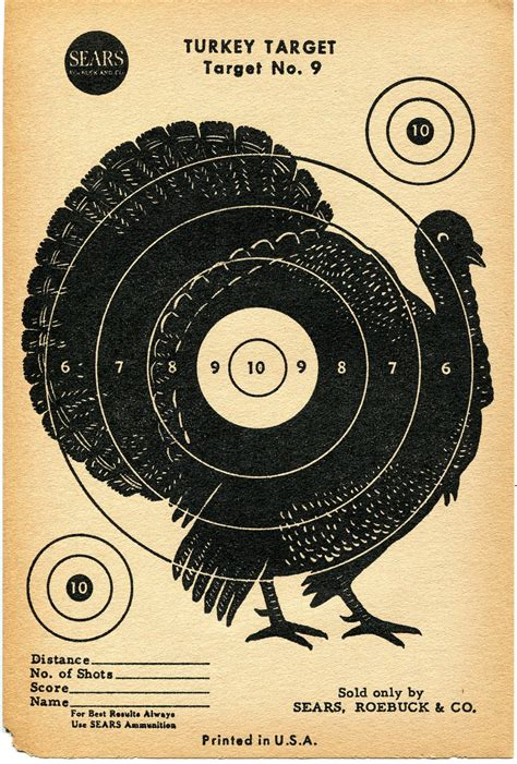 printable turkey hunting targets the gallery for gt terrorist shooting targets to print
