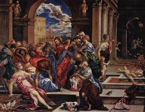 imagenes figurativas estilizadas wikipedia la purificaci 211 n en el templo el greco el universo de