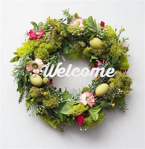 spring outdoor wreaths 25 spring wreaths