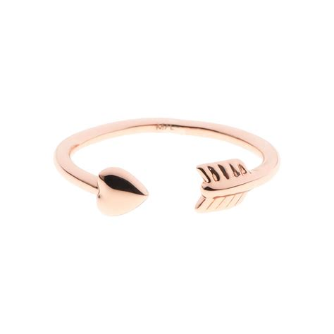 Ted Baker Cassea Cupid Rose Arrow Ring at Jewellery4.com