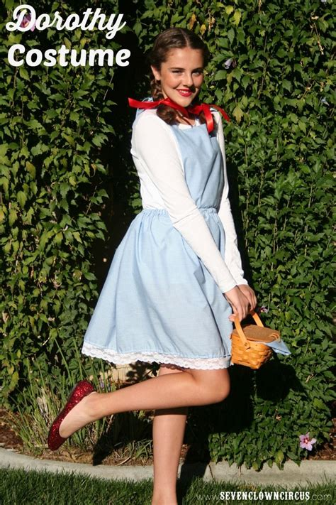 Handmade Dorothy Costume - best 25 easy costumes ideas that you will like