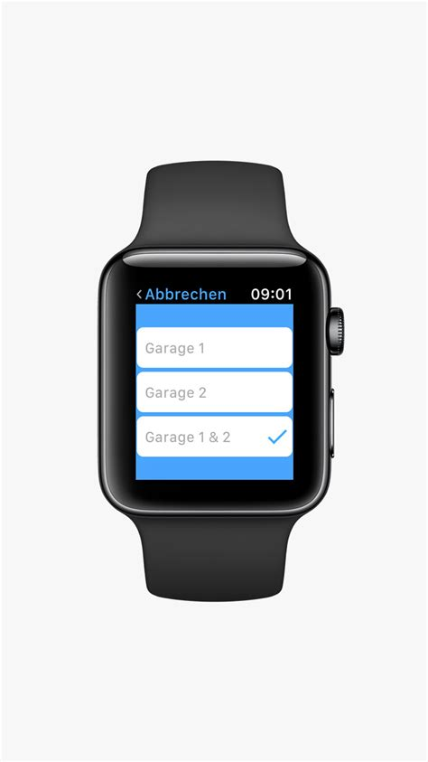 Codenia Apple Watch App Garage Door Garage Door From Iphone