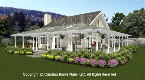 carolina cottage house plans 3d images for chp sg 1280 aa small country cottage 3d house plan views