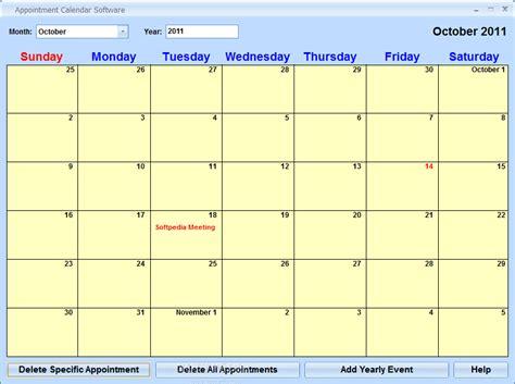 Appointment Calendar Appointment Calendar Software