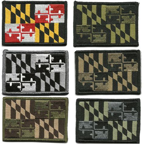 state tactical patches 2 quot x3 quot maryland state tactical patch