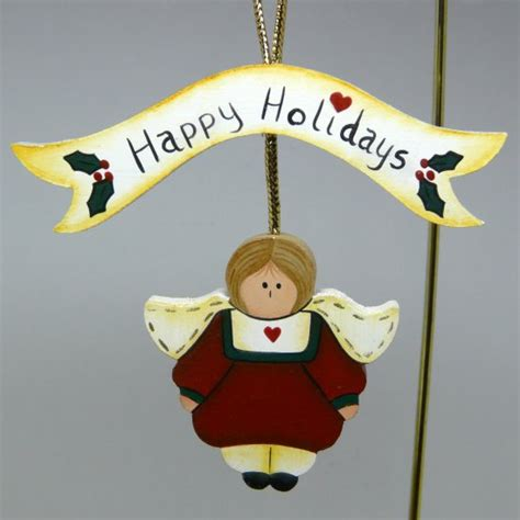 country style ornaments ornament wooden handmade happy holidays