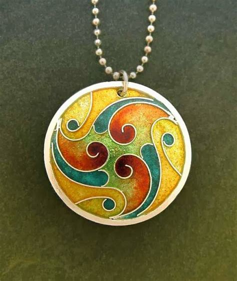 enamel jewelry could this inspire a quilt contemporary cloisonne