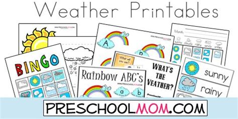 printable games weather free weather printables from preschool mom file folder