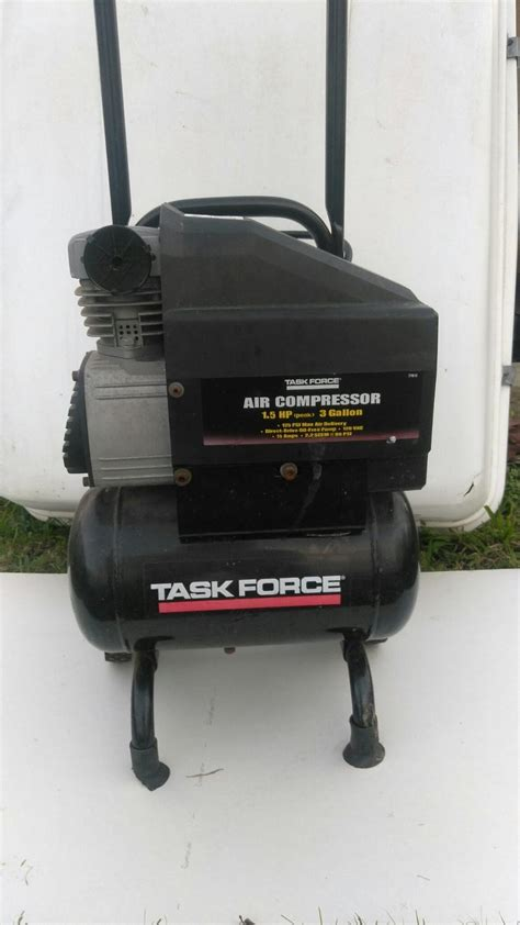 find more 40 task air compressor 1 5 hp 3 gallon for sale at up to 90