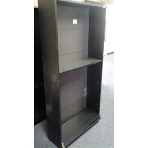 6 foot black bookcase 6 ft black 5 shelf book case w adjustable shelves
