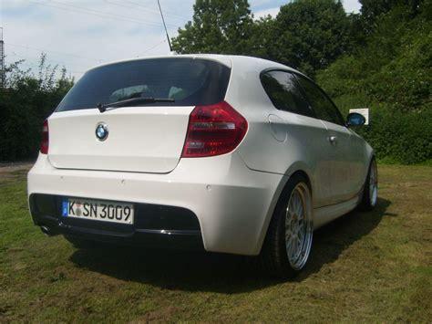 1er Bmw 2007 Heck Oder Frontantrieb by Individuelle M Paket Diffusor Lackierung Ja Oder Nein