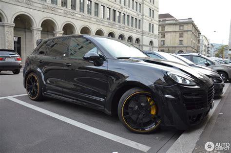 Porsche Cayenne Gold by Porsche Cayenne Techart Magnum 2013 Gold Edition 24