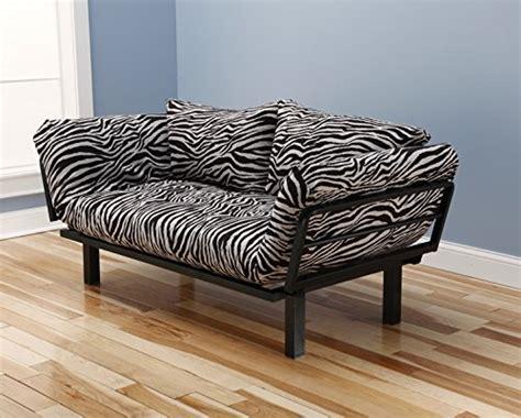 zebra print futon coolest zebra print furniture for the living room
