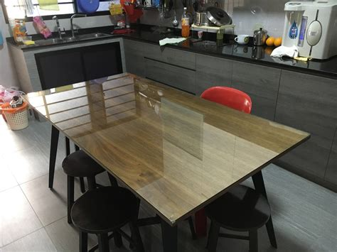 pre cut table tops glass table tops glass and wood round dining table glass
