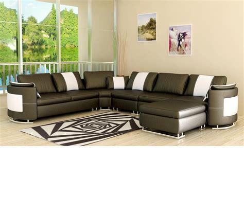 modern bonded leather sectional sofa dreamfurniture com 5001 modern bonded leather