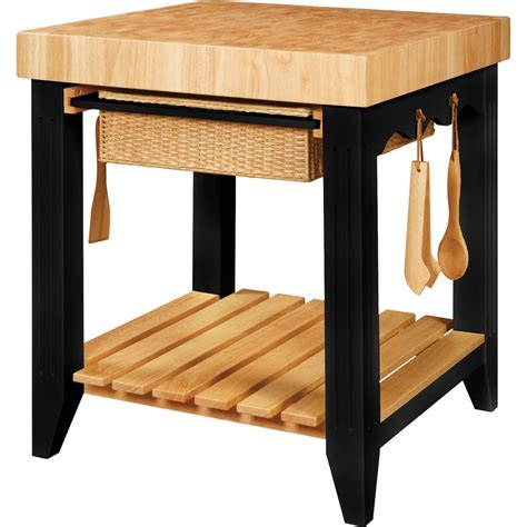 powell kitchen island powell 502 416 color story black butcher block kitchen island